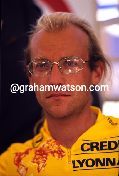 Laurent Fignon in the 1989 Tour de France