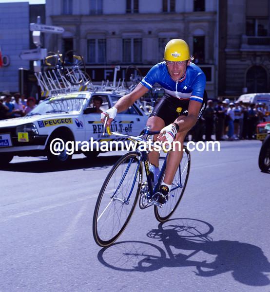 Laurent Fignon in the 1984 Tour de France