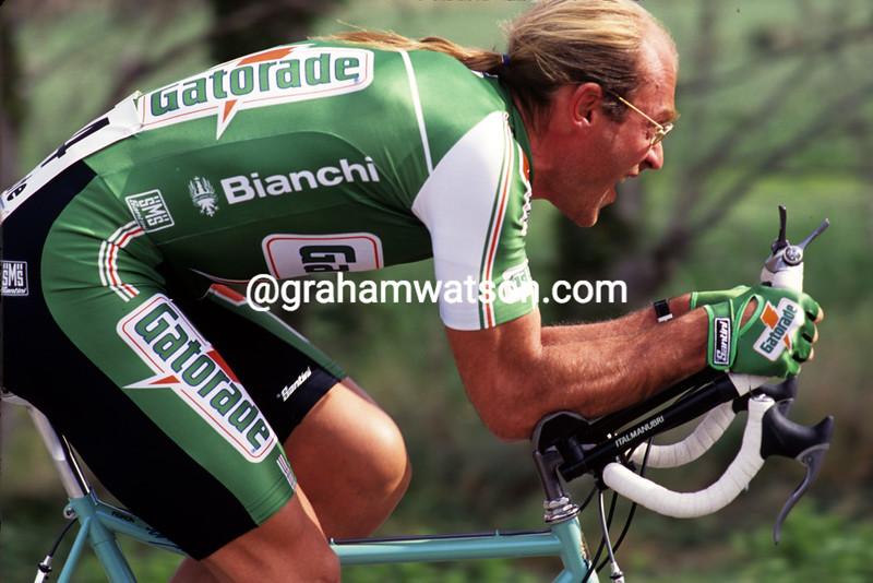 Laurent Fignon in the 1992 Criterium International