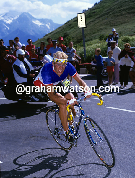 Laurent Fignon in the 1985 Tour de France