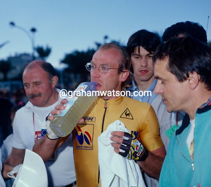 Laurent Fignon in the 1989 Criterium INternational