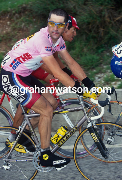 Laurent Jalabert in the 1999 Giro d'Italia