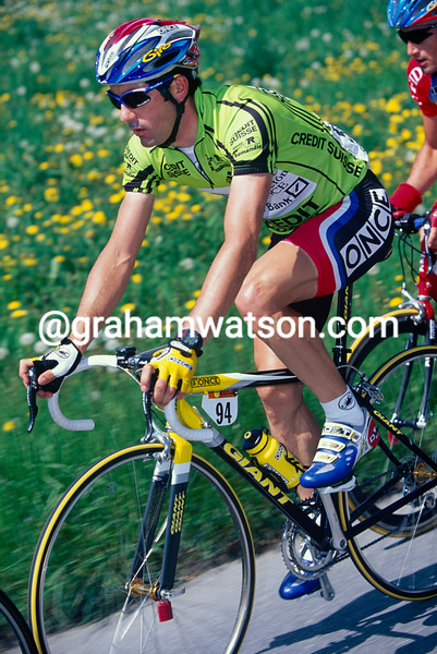Laurent Jalabert in the 1999 Tour de Romandie
