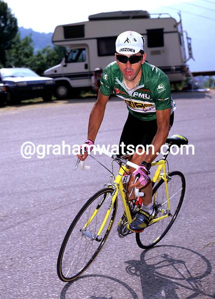 Laurent Jalabert in the 1995 Tour de France
