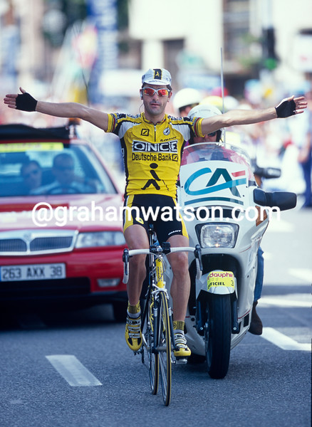Laurent Jalabert in the 1998 Dauphine-Libéré