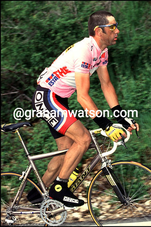 LAURENT JALABERT IN A STAGE OF THE 1999 GIRO DÕITALIA