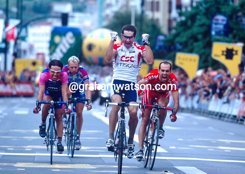Laurent Jalabert wins the 2002 Clasica San Sebastian