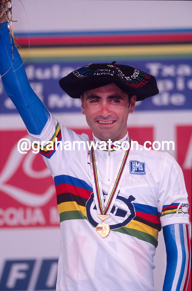 Laurent Jalabert in the 1997 World TT Championship