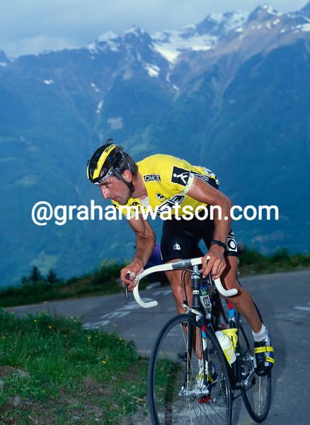 Marino Lejarreta in the 1991 Giro d'Italia
