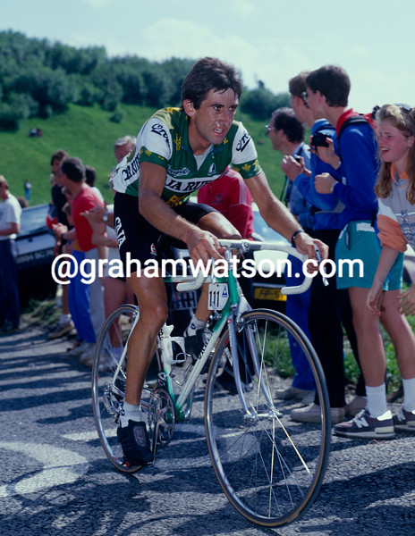 Marino Lejarreta in the 1990 Tour de France