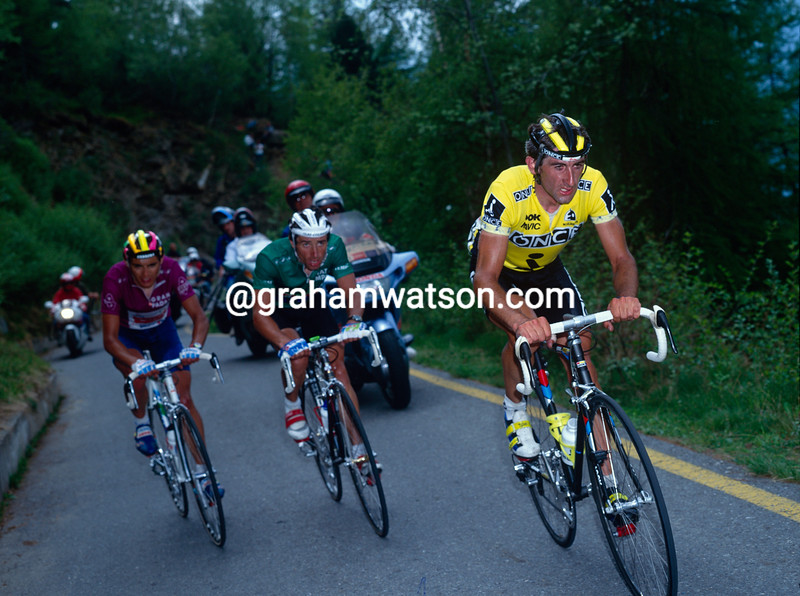 Marino Lejarreta in the 1991 Giro d'Italia