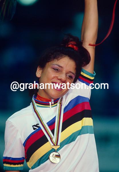 Leontien Van Moorsel in the 1993 World Championships