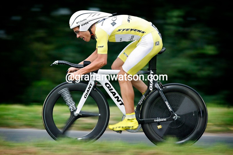 LINUS GERDEMANN ON STAGE EIGHT OF THE 2008 TOUR OF GERMANY