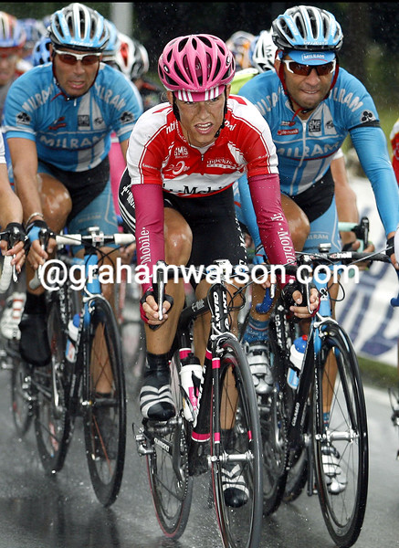 LINUS GERDEMANN IN ACTION ON STAGE ONE OF THE TOUR OF GERMANY TO BIELEFELD