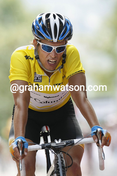 LINUS GERDEMANN ON STAGE THREE OF THE 2008 TOUR OF GERMANY