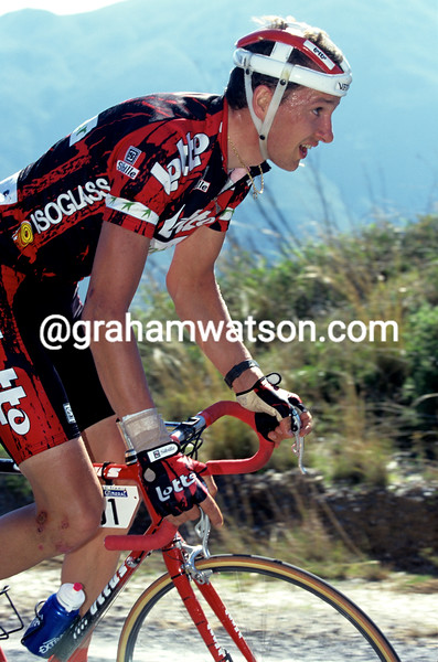 Laurent Madouas inf the 1997 Ruta del Sol