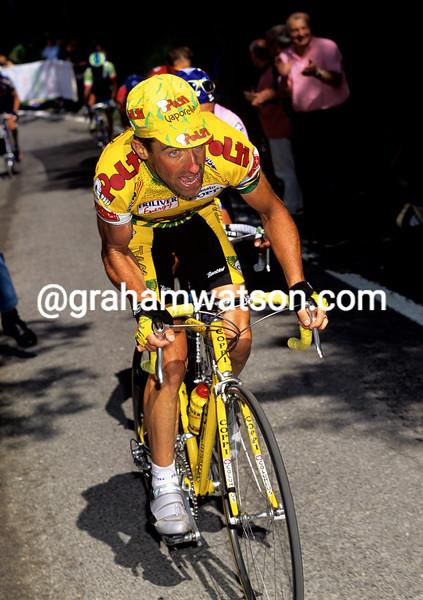 Luc Leblanc in the 1997 Giro d'Italia