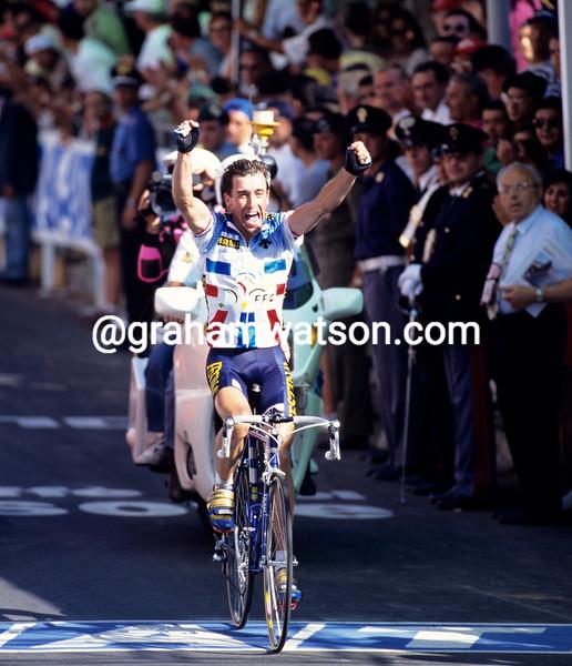Luc Leblanc wins the 1994 World Championship