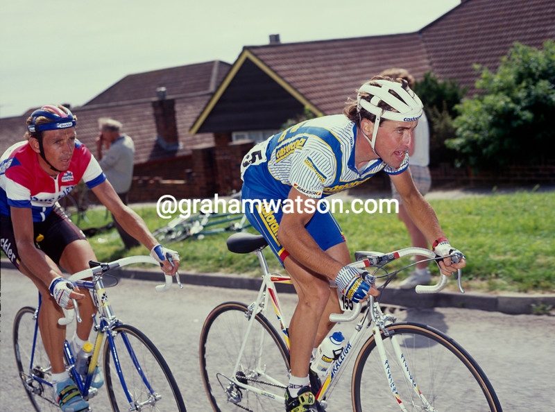 Luc Leblanc in the 1991 Wincanton Classic