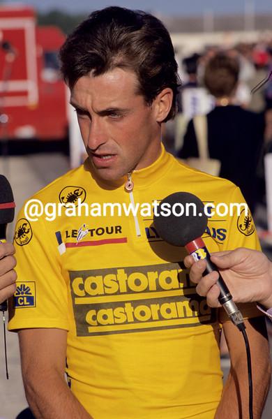 Luc Leblanc in the 1991 Tour de France