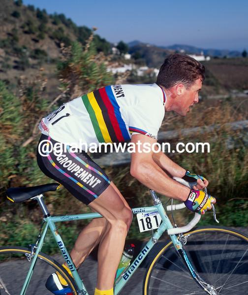 Luc Leblanc in the 1995 Ruta del Sol