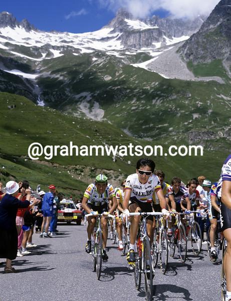 Luis Herrera in the 1989 Tour de France