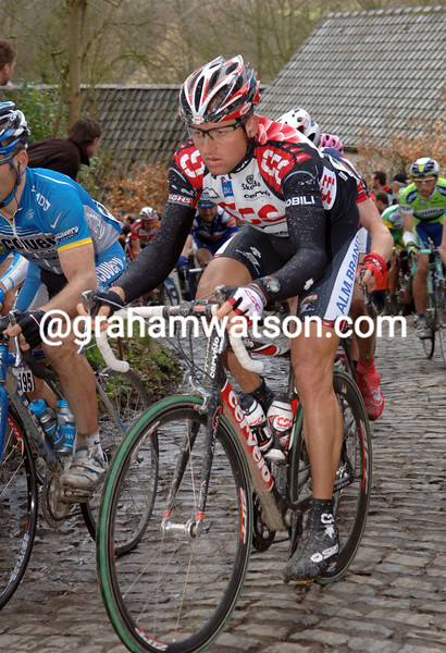 LUKE ROBERTS IN THE 2006 TOUR OF FLANDERS