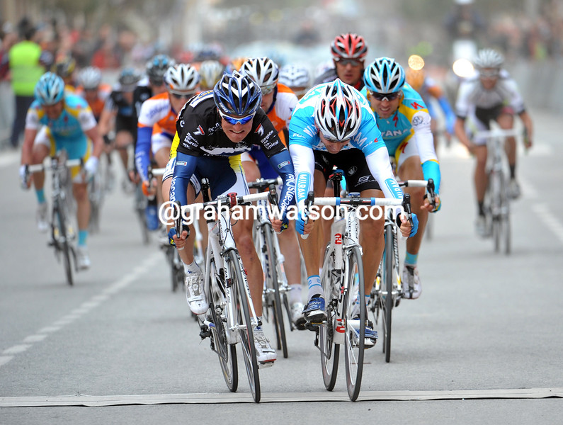 LUKE ROBERTS WINS A STAGE OF THE 2010 TOUR OF MURCIA