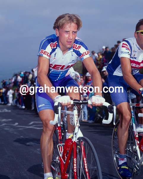 Malcolm Elliott in the 1988 Tour de Fran