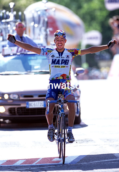Paolo Lanfranchi wins a stage of the Vuelta a España