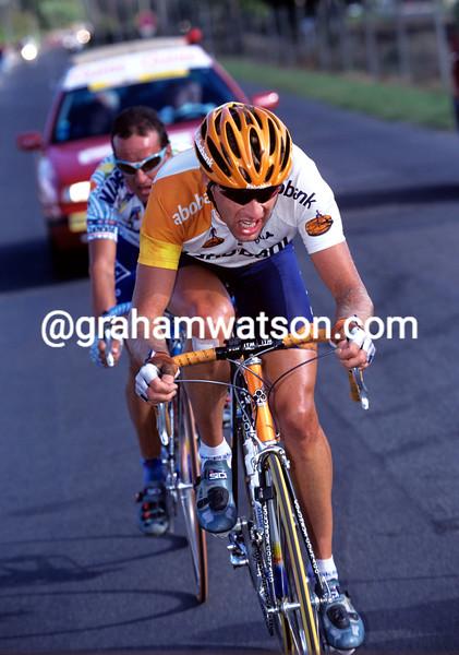 Marc Wauters in the 1999 Paris-Tours