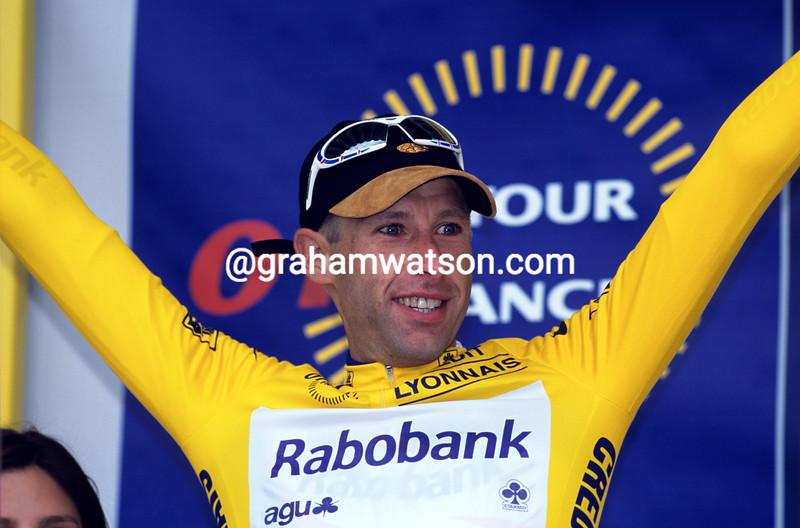 Marc Wauters in the 2007 Tour de France