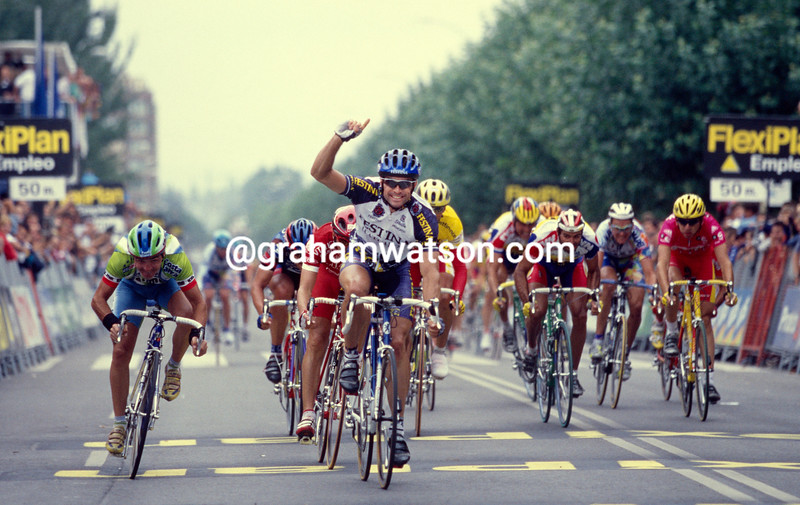 Marcel Wust in the 1998 Tour of Spain