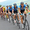 MARCUS BURGHARDT LEADS TEAM COLUMBIA ON STAGE SEVEN OF THE 2008 TOUR DE FRANCE