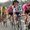 MARCUS BURGHARDT LEADS THE WINNING ESCAPE IN THE 2007 GHENT WEVELGEM