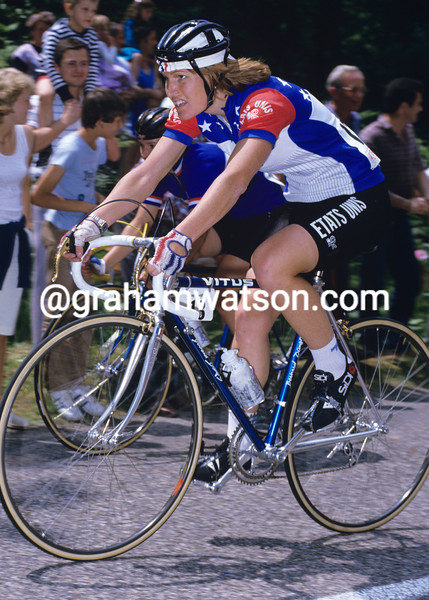 Marianne Martin in the 1984 Tour de France Feminin
