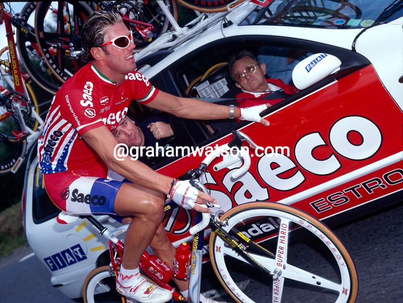 Mario Cipollini in the 1997 Tour de France