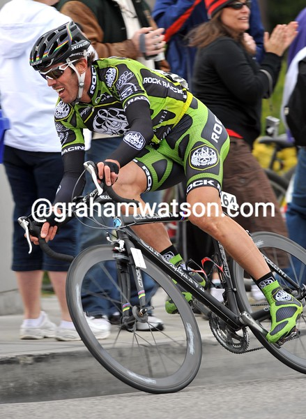 MARIO CIPOLLINI ON STAGE SIX OF THE 2008 TOUR OF CALIFORNIA