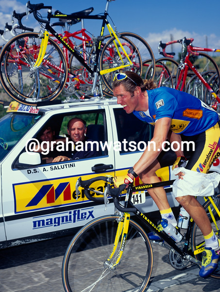 Mario Cipollini in the 1994 Giro d'Italia