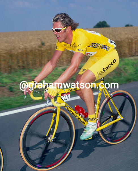 Mario Cipollini in the 1996 Tour de France