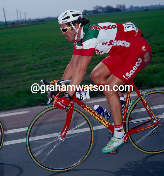 Mario Cipollini in the 1997 Ghent-Wevelgem