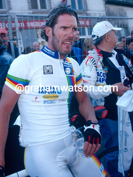 Mario Cipollini in the 2002 Ghent-Wevelgem