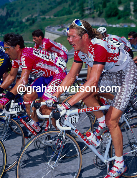 Mario Cipollini in the 1997 Giro d'Italia