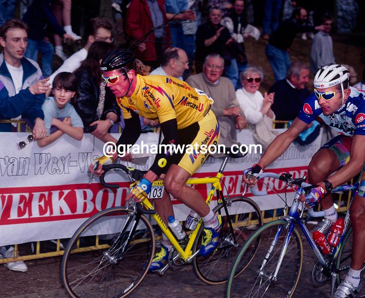 Mario Cipollini in the 1994 Ghent-Wevelgem