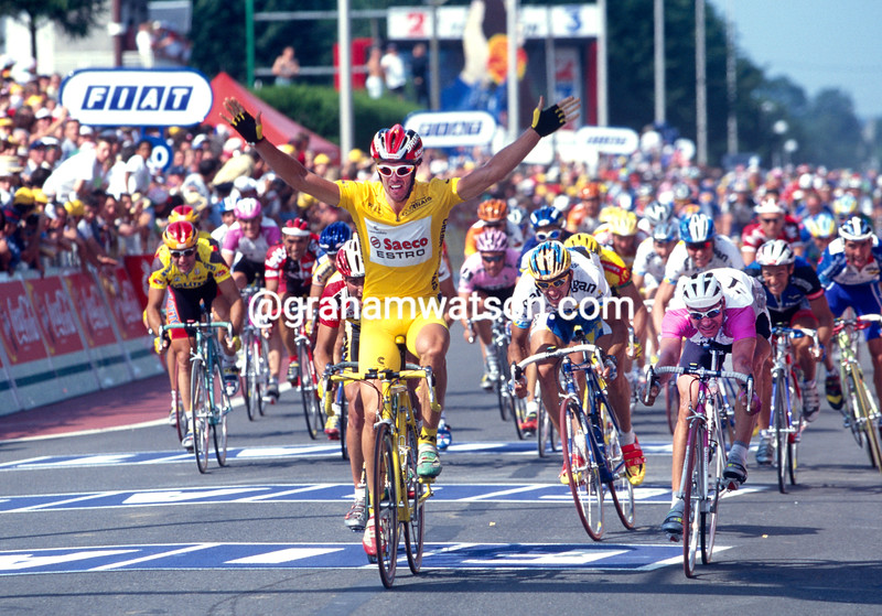 Mario Cipollini in the 1997 Tour de France