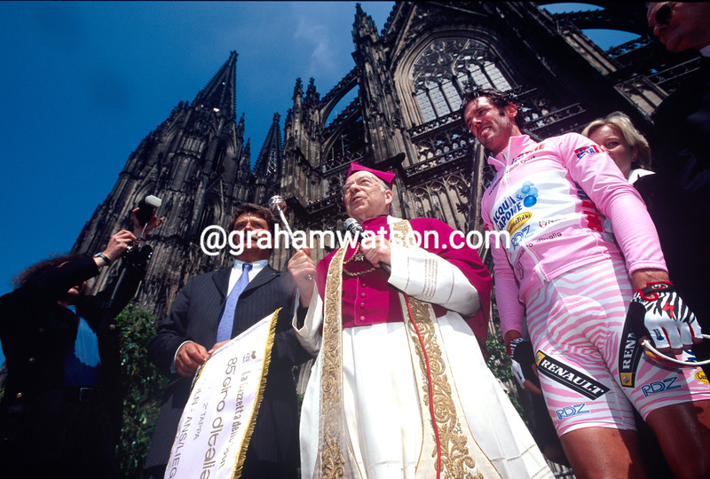 Mario Cipollini in the 1999 Giro d'Italia