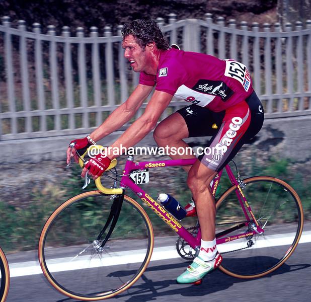 Mario Cipollini in the 1997 Giro d'Italia