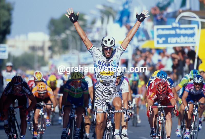 Mario Cipollini in the 2002 Tour of Spain