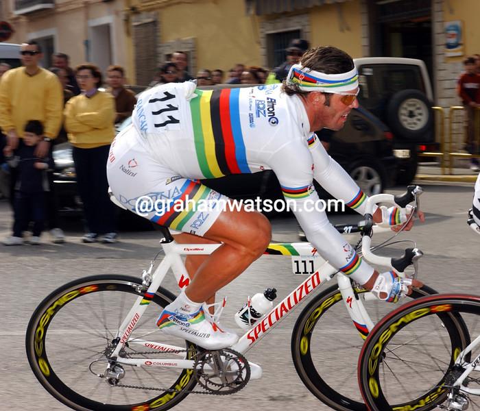 Mario Cipollini in the 2003 Trofeo Luis Puig