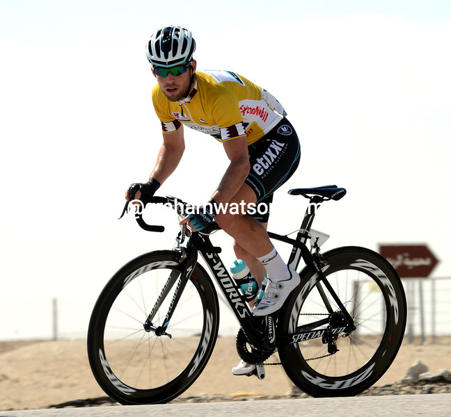 Mark Cavendish on stage 5 of the 2013 Tour of Qatar